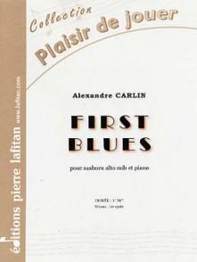 CARLIN A. FIRST BLUES SAXHORN ALTO