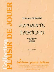 OPRANDI P. ANDANTE BAMBINO SAXHORN ALTO