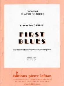 CARLIN A. FIRST BLUES SAXHORN BASSE