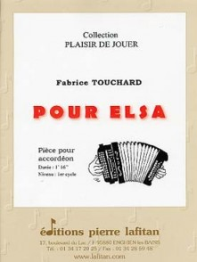 TOUCHARD F. POUR ELSA ACCORDEON