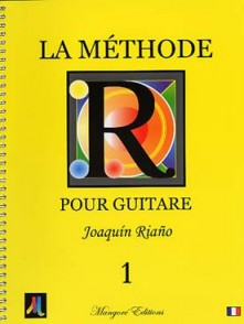 RIANO J. LA METHODE POUR GUITARE VOL 1