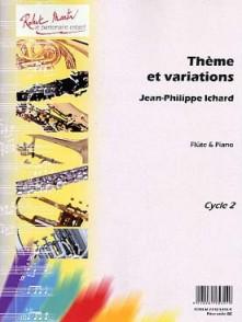 ICHARD J.P. THEME ET VARIATIONS FLUTE
