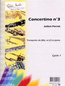 PORRET J. CONCERTINO N°3 TROMPETTE