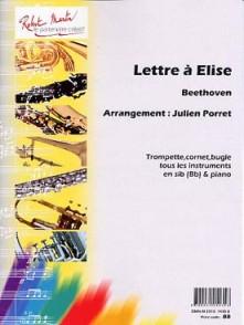 BEETHOVEN L.V. LETTRE A ELISE TROMPETTE