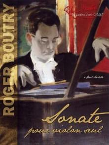 BOUTRY R. SONATE VIOLON SOLO
