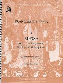 COUPERIN F. MESSE POUR LES COUVENTS ORGUE