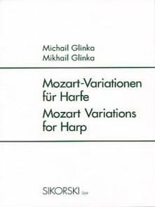 GLINKA M. VARIATIONS SUR UN THEME DE MOZART HARPE