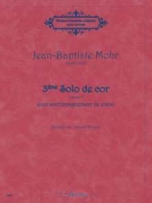 MOHR J.B. 3ME SOLO DE COR OP 8 COR