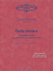 GANNE L. VIEILLE CHANSON TROMPETTE