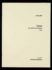 PART A. FRATRES VIOLON