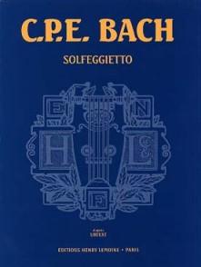 BACH C.P.E. SOLFEGIETTO PIANO