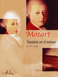 MOZART W.A. FANTAISIE RE MINEUR PIANO