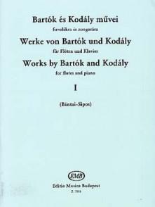BARTOK B./KODALY Z. WORKS BY BARTOK VOL 1 FLUTE