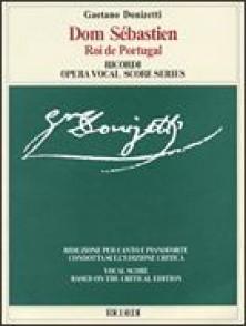DONIZETTI G. DOM SEBASTIEN ROI DE PORTUGAL CHANT