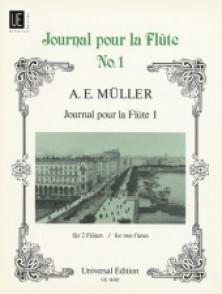 MULLER A.E. JOURNAL POUR LA FLUTE VOL 1 FLUTES