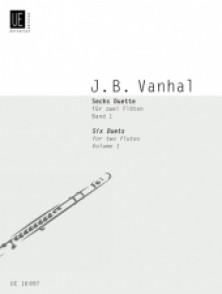 VANHAL J.B. 6 DUETS VOL 1 FLUTES