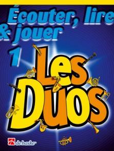 ECOUTER LIRE JOUER VOL 1 LES DUOS CLARINETTES
