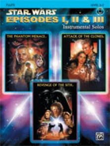 STAR WARS EPISODES I, II & III FLUTE