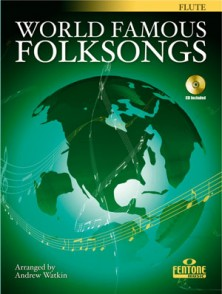 WORLD FAMOUS FOLKSONGS FLUTE