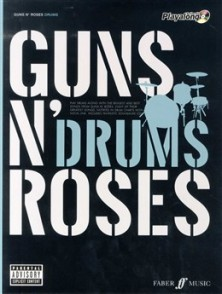GUNS N' ROSES AUTHENTIC PLAYALONG DRUMS