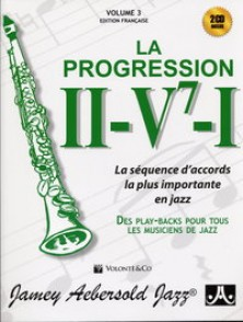 AEBERSOLD VOL 003 PROGRESSION II-V7-I