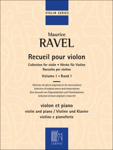 RAVEL M. RECUEIL VOL 1 VIOLON