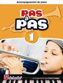 KASTELEIN J. PAS A PAS VOL 1 TROMPETTE ACCOMPAGNEMENT DE PIANO
