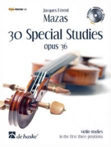 MAZAS 30 SPECIAL STUDIES OPUS 36 VIOLON