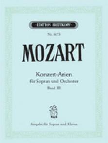 MOZART W.A. KONZERT-ARIEN VOL 3 SOPRANO