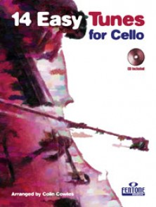COWLES C. 14 EASY TUNES FOR CELLO
