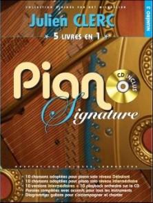 CLERC J. 5 LIVRES EN 1 PIANO SIGNATURE