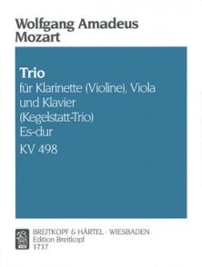 MOZART W.A. TRIO KV 498 MIB MAJEUR