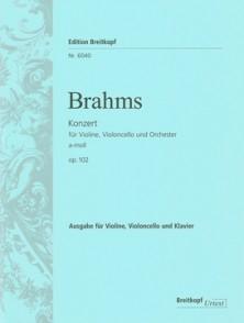 BRAHMS J. CONCERTO LA MINEUR OP 120 CONDUCTEUR