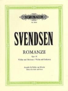 SVENDSEN J.S. ROMANCE OP 26 VIOLON