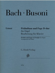 BACH / BUSONI PRELUDE AND FUGE IN D MAJOR ORGUE