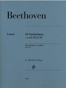 BEETHOVEN L.V. VARIATIONS PIANO