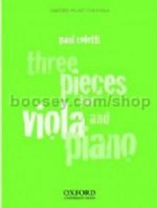 COLETTI P. THREE PIECES FOR VIOLA