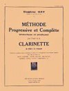 GAY E. METHODE PROGRESSIVE ET COMPLETE VOL 2 CLARINETTE