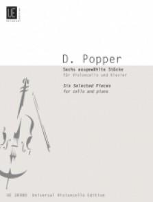 POPPER D. 6 SELECTED PIECES VIOLONCELLE