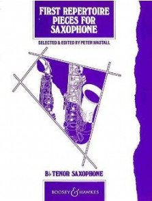 WASTALL P. FIRST REPERTOIRE SAXO TENOR
