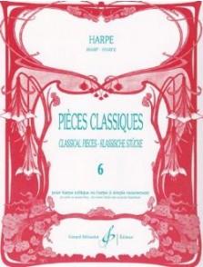 PIECES CLASSIQUES VOL 6 HARPE