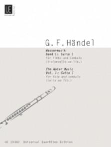 HAENDEL G.F. WATER MUSIC SUITE I FLUTE
