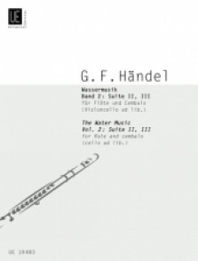 HAENDEL G.F. WATER MUSIC SUITE II ET III FLUTE