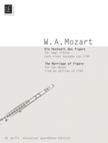 MOZART W.A. LE MARIAGE DE FIGARO FLUTES