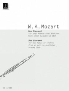 MOZART W.A. DON JUAN FLUTES