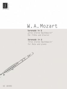 MOZART W.A. SERENADE K 525 FLUTE