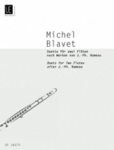 BLAVET M. DUETS ON THE WORKS OF RAMEAU FLUTES