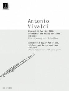 VIVALDI A. CONCERTO D MAJOR FLUTE