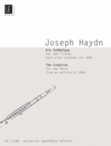 HAYDN J. THE CREATION 2 FLUTES