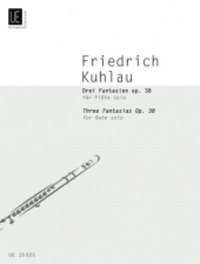 KUHLAU F. FANTAISIES OP 38 FLUTE